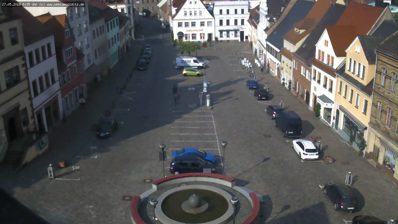 Webcam Colditz Markt